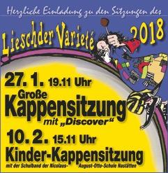 Lieschder Varieté Titelseite 2018